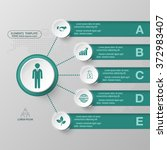 modern infographics business... | Shutterstock .eps vector #372983407