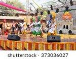 surajkund  haryana  india  feb... | Shutterstock . vector #373036027