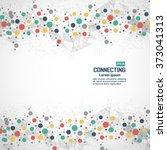 network technology... | Shutterstock .eps vector #373041313
