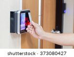 Small photo of electronic key and finger access control system to lock and unlock doors