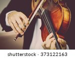 Detail Of Viola Being Played B...