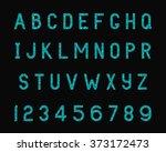 vector illustration of sparkle... | Shutterstock .eps vector #373172473