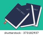 bible vector image  bible...   Shutterstock .eps vector #373182937