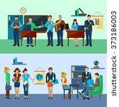 university people set   Shutterstock . vector #373186003