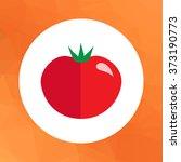 ripe tomato icon | Shutterstock .eps vector #373190773