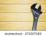nice wood texture with set... | Shutterstock . vector #373207183