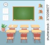 School Classroom With...