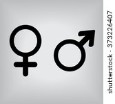gender symbols | Shutterstock .eps vector #373226407
