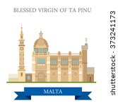 blessed virgin of ta pinu in...