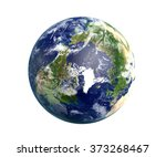 high quality render of planet... | Shutterstock . vector #373268467