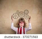 portrait of young businessman... | Shutterstock . vector #373271563