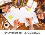post blog social media. view... | Shutterstock . vector #373288627