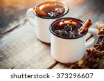 Mulled Wine In White Rustic...