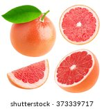 Isolated Grapefruit. Collectio...