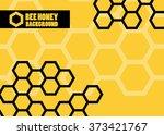 Orange Abstract Vector Honey...