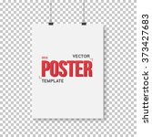 illustration of vector poster... | Shutterstock .eps vector #373427683