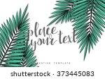 template design concept sketch...   Shutterstock .eps vector #373445083