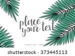 template design concept sketch... | Shutterstock .eps vector #373445113
