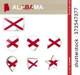 Alabama Flag Set  Us State ...