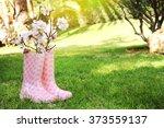 spring garden | Shutterstock . vector #373559137
