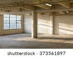 modern loft apartment warehouse ... | Shutterstock . vector #373561897