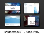 set of modern design banner... | Shutterstock .eps vector #373567987