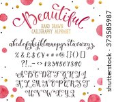 Elegant Calligraphy Letters...