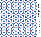 Red Blue Pattern