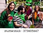 Friends Celebrating St Patrick...