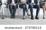 human resources interview... | Shutterstock . vector #373700113