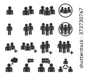 people icon | Shutterstock .eps vector #373730767