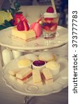 Small photo of Afternoon tea (Filtered image processed vintage effect)
