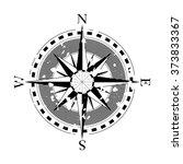 compass navigation dial  ... | Shutterstock .eps vector #373833367