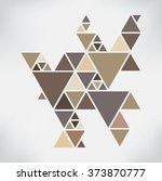 abstract geometric background... | Shutterstock .eps vector #373870777