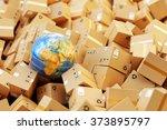 distribution warehouse ... | Shutterstock . vector #373895797