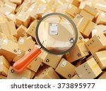 distribution warehouse ... | Shutterstock . vector #373895977