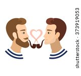valentine's greeting card gay... | Shutterstock . vector #373919053