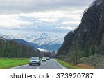 road view to castle and... | Shutterstock . vector #373920787