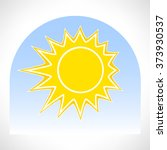 sun and sky symbol | Shutterstock .eps vector #373930537