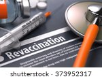 revaccination   medical concept ... | Shutterstock . vector #373952317