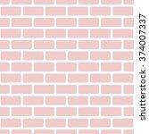 brick pattern | Shutterstock .eps vector #374007337