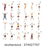 together we'll win united we... | Shutterstock . vector #374027707