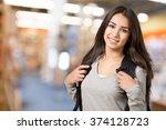 student. | Shutterstock . vector #374128723