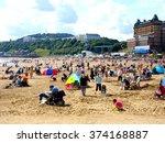 scarborough  yorkshire  uk.... | Shutterstock . vector #374168887
