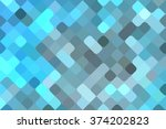 abstract blue creative... | Shutterstock . vector #374202823