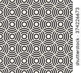 vector seamless pattern. modern ... | Shutterstock .eps vector #374226673