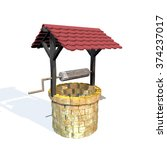 water well on white background | Shutterstock . vector #374237017