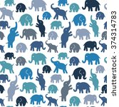 seamless vector pattern with...   Shutterstock .eps vector #374314783