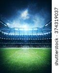 stadium | Shutterstock . vector #374319037
