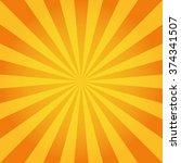 sun rays. vector | Shutterstock .eps vector #374341507